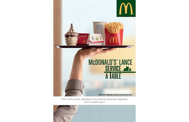 Mac Donald's - Service à table